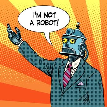 Les robots ne sont pas encore assez crédibles pour discuter...