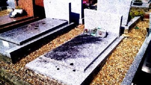 Mon stage sur le nettoyage de tombes