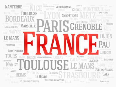 Chaque page du site est dédiée à une ville de France